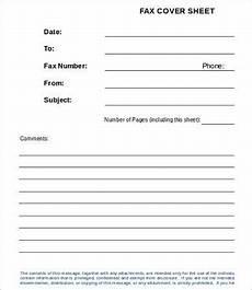 Job Application Cover Sheet Sample Fax Cover Sheet For Job Application