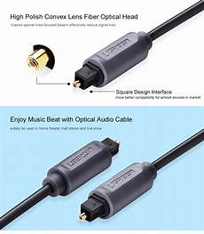 Ugreen Digital Optical Audio Cable Toslink by Ugreen Digital Optical Audio Cable Toslink Gold Plated