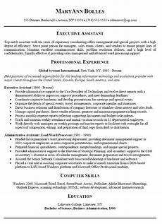 Administrative Assistant Resume Samples Sample Resume For Administrative Assistant 2019 What To