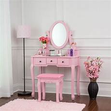 fineboard single mirror dressing table set five