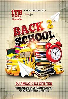 Back To School Flyer Templates Flyer For Back To School By Elegantflyer