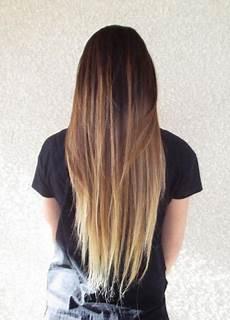 Dark Brown Hair Dip Dyed Light Brown Trendy Brown Ombre Hair Ideas