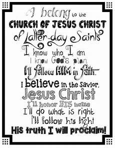 I Belong To The Church Of Jesus Christ Flip Chart Hollyshome Church Fun Create A Quot Meet The Mormons Quot Quot I