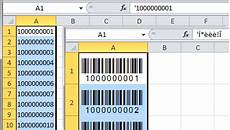 Excel Barcode Font Interleaved 2 Of 5 Barcode Fonts And Office Add Ins