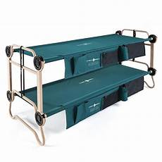 adults 2 3 in 1 portable bunk style cots with