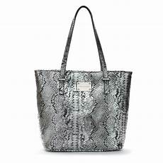 Designer Tote Designer Leather Tote Handbag Silver Amp Black By Bobby