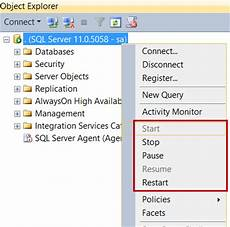 Start Database 5 Different Ways To Start Sql Server Services