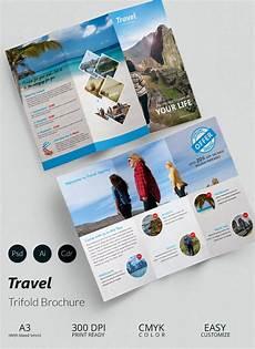 A Brochure Format Travel Brochure Templates 21 Download In Psd Vector
