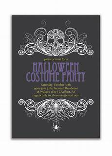 Free Printable Halloween Party Invitations For Adults Halloween Party Invitation Costume Party Invitation