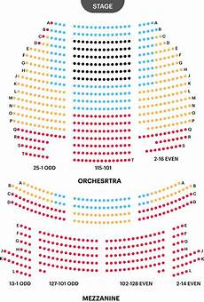 Seating Chart Eugene O Neill Theatre The Book Of Mormon Guide Eugene O Neill Theatre Seating