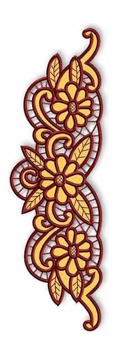 advanced embroidery designs cutwork lace border