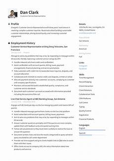 Online Resume Services How To Customer Service Representative Resume Amp 12 Pdf