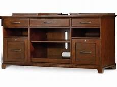 desk credenza furniture wendover distressed cherry 60 l x 24 w