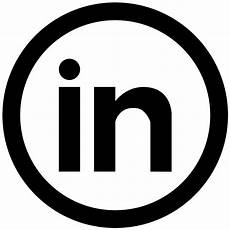Linked Inn Social Linkedin Circular Button Svg Png Icon Free Download