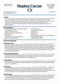 Resume Example Word Document Cv Word File
