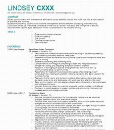 New Home Sales Resume New Home Sales Manager Resume Example Williamsburg Homes