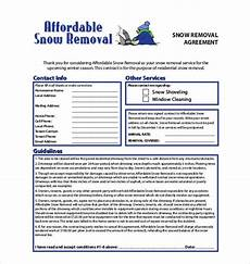 Commercial Snow Removal Contract Snow Removal Contracts Templates 12 Common Mistakes Ah
