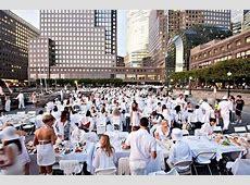 Pop Up Dinner Parties : Diner en Blanc