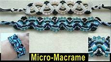 beading4perfectionists micro macrame bracelet with