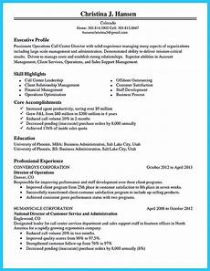 Resume For A Call Center Agent What Will You Do To Make The Best Call Center Resume So