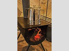 Portable Military Camping Wood Stove Tent Heater   Gentlemint