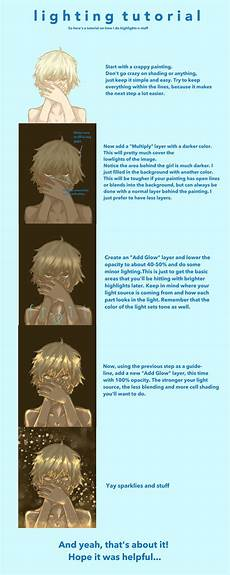 Lighting Tutorial Lighting Tutorial By Lilbreadbun On Deviantart