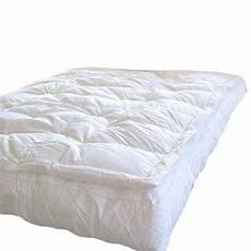 marrikas pillow top goose feather bed featherbed king