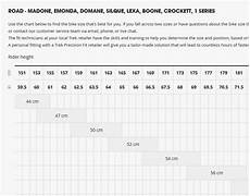 Trek Speed Concept Size Chart Frames Bike Fit Confusion Bicycles Stack Exchange