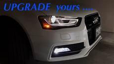 Audi A4 Prnds Lights Fog Light Upgrade For My 2016 Audi A4 Premium Plus Youtube