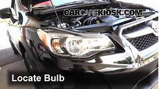 2013 Subaru Crosstrek Light Bulb Headlight Change 2013 2019 Subaru Xv Crosstrek 2014