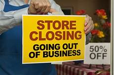 Closed For Business Sign 75 000 More Stores Need To Close Ubs Estimates As Online