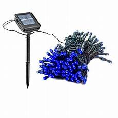 Solar Christmas Lights Walmart New 55 Foot Solar Powered Outdoor Christmas Party String