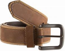 Belt Design Bill Adler Design Canvas Leather Belt Men S At Rei