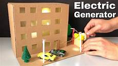 How To Create A Science Project How To Make Electric Generator Science Project For Kids