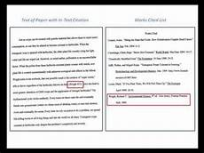 Essay In Mla Basics Of Citing Mla 1 Of 3 2015 Update Youtube