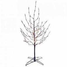 6 Ft Lighted Twig Tree Kurt Adler 4 Foot Twig Tree With White Led Lights