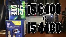 Skylake Vs Haswell Skylake Vs Haswell I5 6400 Vs I5 4460 Youtube