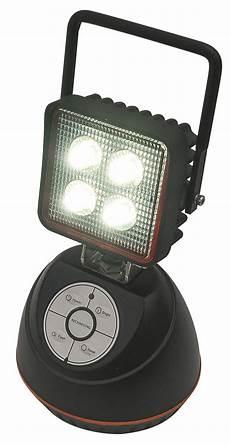 12v Led Magnetic Work Light 12w Led Portable Rechargeable Work Light With Magnetic