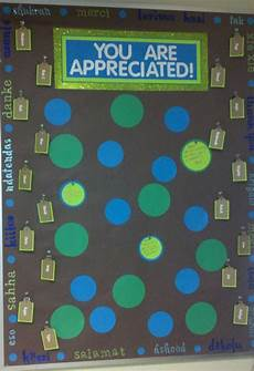 Employee Bulletin Boards Employee Appreciation Board Around The Edges Are Quot Thank