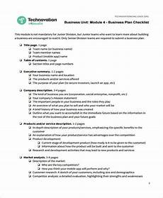 Business Plan Checklist Template Business Checklist Template 14 Free Word Pdf Format