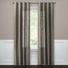 Target Light Filtering Curtains Weave Textured Light Filtering Curtain Panel Gray 84