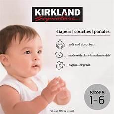 Kirkland Diaper Size Chart Kirkland Signature Diapers Sizes 1 6 In 2020 Diaper