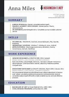 How Your Resume Should Look What Your Resume Should Look Like In 2017 Resume