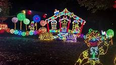 Darden Tn Christmas Lights Rock City S Enchanted Garden Of Lights 2016 Youtube