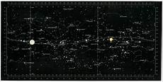Star Chart For Date Destination Moon Star Chart Smithsonian Institution