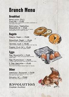 Breakfast Menu Layout Breakfast Menu Graphic Design Cool Illustration Bar Menu
