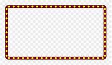 Border Light Notification Movie Clipart Light Border Movie Light Border Transparent