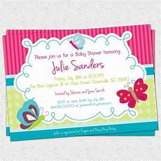 printable butterfly baby shower invitation butterflies