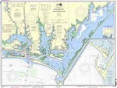 Noaa Charts For Sale Noaa Nautical Chart 11545 Beaufort Inlet And Part Of Core