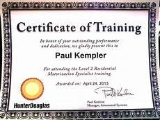 Certificate Of Training Completion Big News For Kempler Design Kempler Design